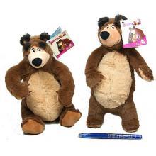 Máša a medvěd plyšový 25cm