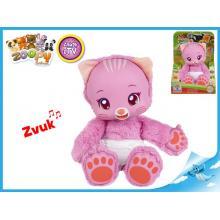Zoopy Babies kočička plyšová 24cm svítící ve tmě 12+