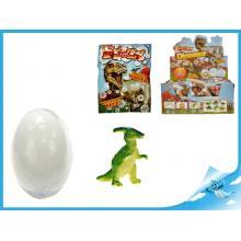 Dinosaurus ve vajíčku 7cm rozpustném ve vodě v sáčku 6druhů