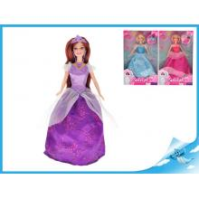 Panenka princezna kloubová 29cm 3druhy
