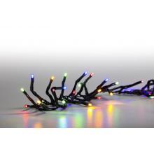 Svíčky venkovní 100 LED barevné 18000063 programovatelné kabel zelený