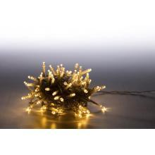 Svíčky venkovní 100 LED teplá bílá 18000067 programovatelné kabel transparentní
