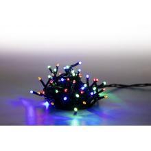 Svíčky venkovní 200 LED barevná 18000073 programovatelné kabel zelený