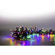 Svíčky venkovní 400 LED barevná 18000083 programovatelné shlukové kabel zelený