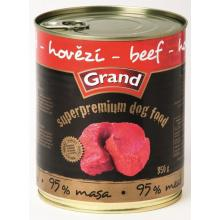 Grand superpremium hovězí-DOG 850g