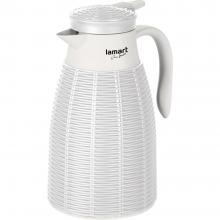Lamart LT4041 termoska 1L bílá ratan