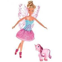 Simba Steffi Love panenka Víla s křídly a jednorožcem 29 cm