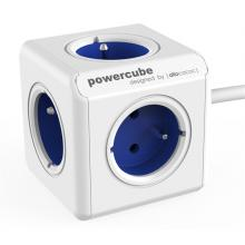 Powercube Extender prodloužovací kabel 1,5m, 5 zásuvek modrá/bílá