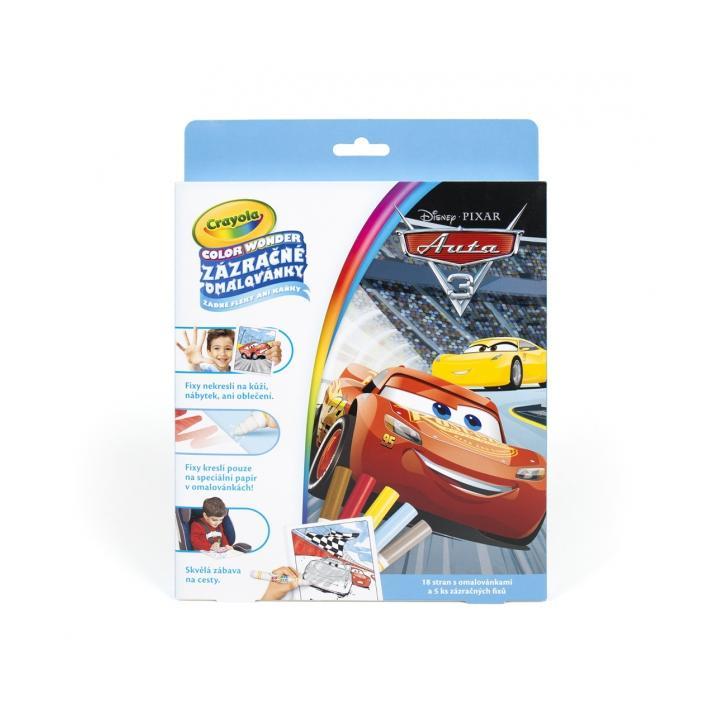 ALBI Crayola Zázračné omalovánky  auta