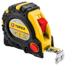 Topex Metr svinovací 10m/32mm ocel/nylon magnet stop