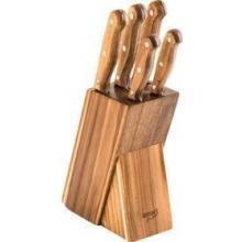 Lamart LT2080 Set 5 Nožů v bloku Wood