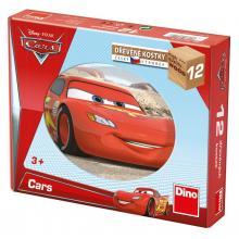 DINO Toys kubus Cars - Auta ve světě 12 kostek