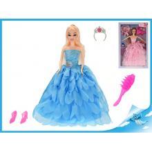 Panenka princezna kloubová 29cm s doplňky 2barvy