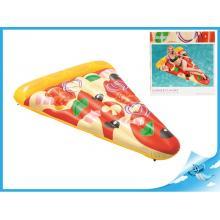 Lehátko nafukovací pizza 188x130cm s držátkem na pití max.90kg
