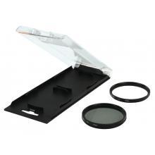 UV + polarizační filtr 58mm Camlink
