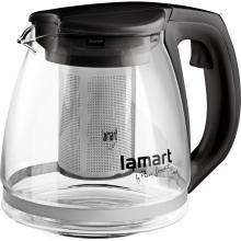 Lamart LT7025 konvice 1,1L černá Verre