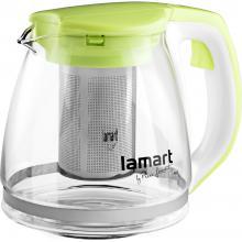 Lamart LT7026 konvice 1,1L zelená Verre