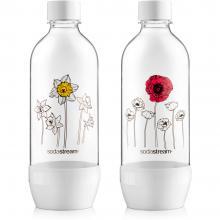 Sodastream láhev duo pack 1l květiny v zimě