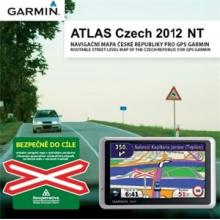 Garmin mapy ČR - ATLAS Czech 2012 NT upgrade - DVD