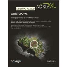 Garmin Turistická mapa jadranských zemí AdriaTOPO XL microSD/SD