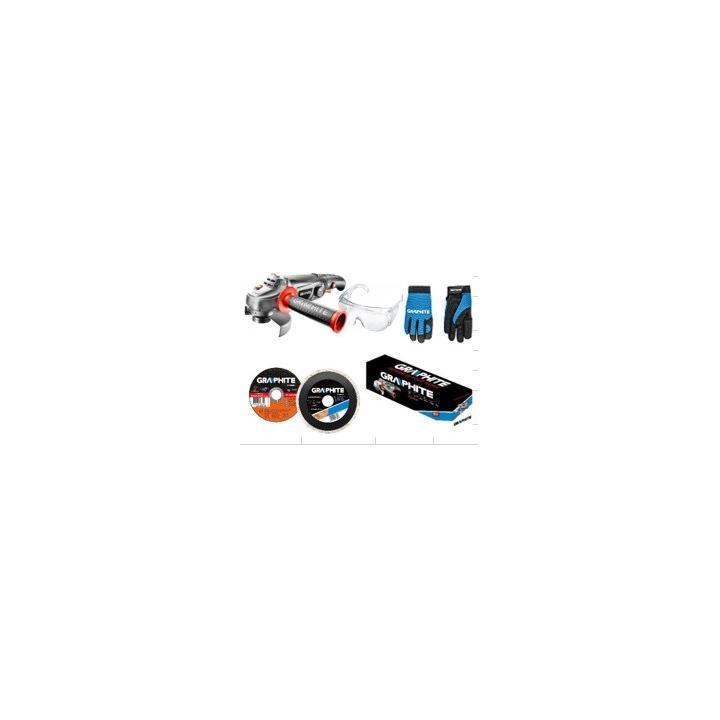 Úhlová bruska 59G120, elektrika (kabel), 230V, 11000 ot./min, Graphite