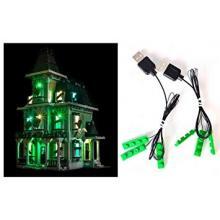 LED Osvětlení pro Lego 10228 Strašidelný dům