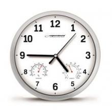 Esperanza Nástěnné hodiny Lyon bílé