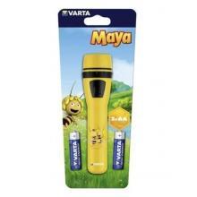 Svítilna VARTA 15630 LED vč.2R6, plastová, Maya, žlutá