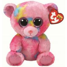 36420 Beanie a Boos FRANKY- růžový medvídek 24 cm