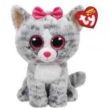 37075 Beanie a Boos  KIKI- šedá kočka 24 cm