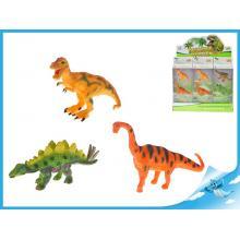 Dinosauři 3ks 9-10cm 2druhy v krabičce