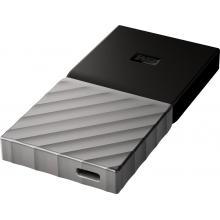 SSD WD My Passport 256GB USB3.1 stříbrná externí