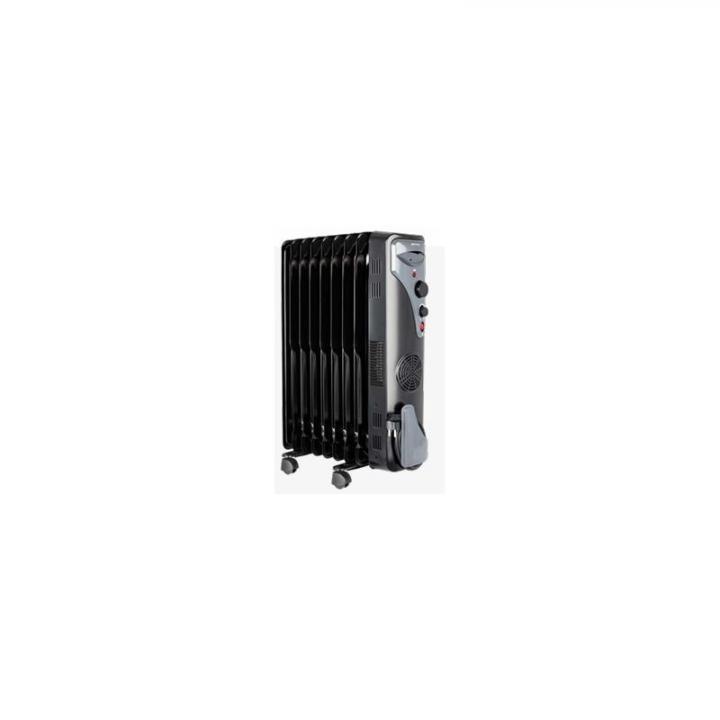MPM MUG17 9ž olejový radiátor černý