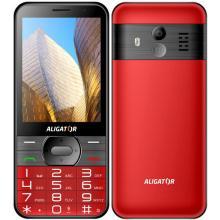 Aligator A900 GPS Senior červený +st.nabíječka