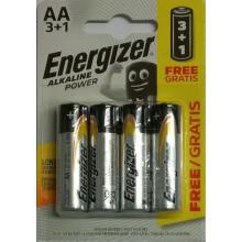 Baterie Energizer Alkaline Power AA/R06, Blistr (3+1)