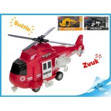 Helikoptéra 1:16 28cm na setrvačník na baterie