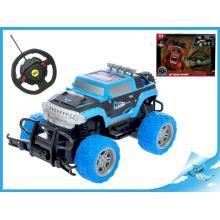 R/C auto off-road 1:20 20cm 27MHz s volantem na baterie plná funkce