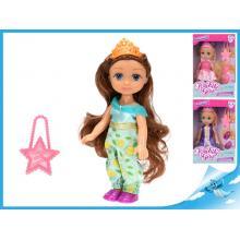 Panenka princezna 15cm s doplňky 3druhy