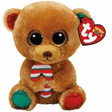 Beanie Boos Bella hnědý medvěd 24 cm 36251