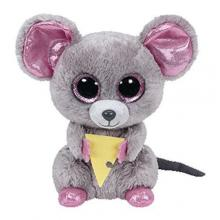 Beanie a Boos SQUEAKER- myš se sýrem 15 cm