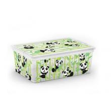 Plastový C Box s víkem S cute animals Panda