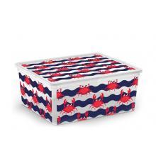 Plastový C Box s víkem M cute animals Krabi