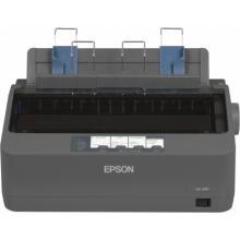EPSON LQ-350 - A4/24pins/300zn/1+3 kopii/USB/LPT/COM jehličková