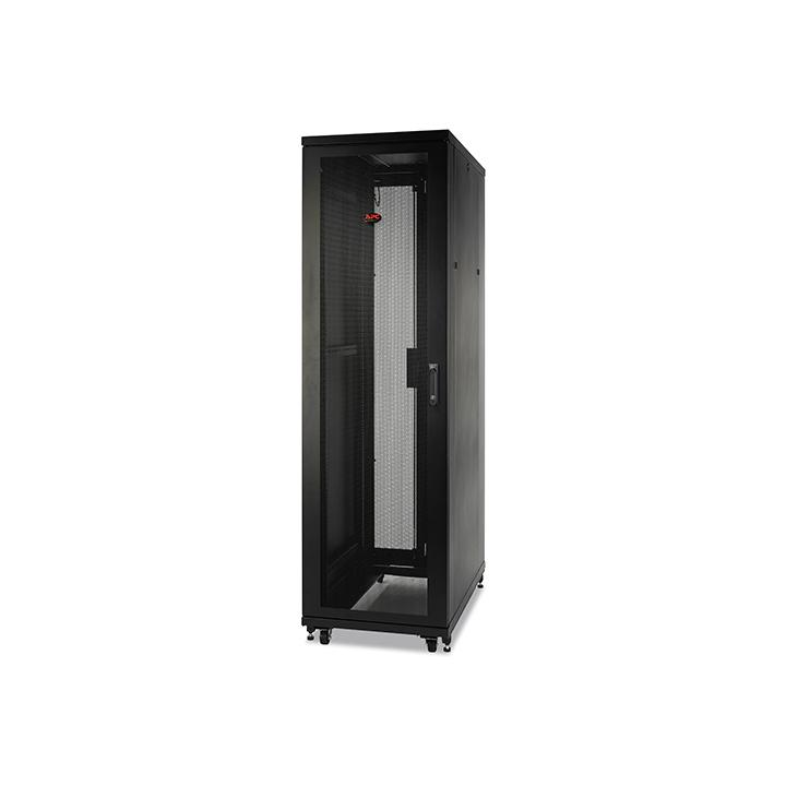 APC NetShelter SV 42U 600mm Wide x 1060mm Deep Enclosure with Sides, Black, Single Rack Unassembled