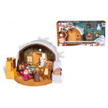 Simba Máša a medvěd zimní dům medvěda 9301023