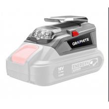 GRAPHITE ENERGY+ 58G025 adaptér USB - LED světlo