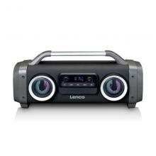 LENCO Radio SPR-100BK boombox