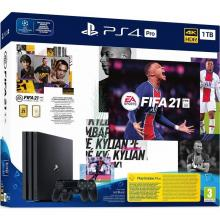 Sony PlayStation 4 Pro 1 TB + FIFA 21 + 2x ovladač