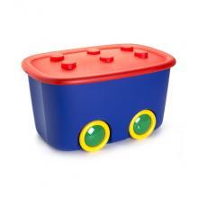 8630 FUNNY BOX 60L modro červený