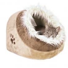 Trixie Pelíšek koule MINOU č.1, 35x26x41cm - béžová/hnědá
